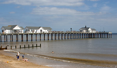 Southwold Pier - Date Taken 27 Aug 2007