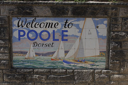 Welcome to Poole - Date Taken 18 Jun 2010